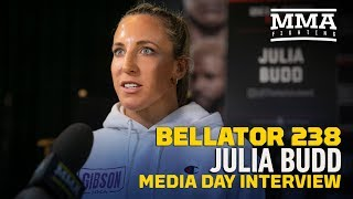 Bellator 238: Champ Julia Budd Says Beating Cris Cyborg 'So Important' For Career - MMA Fighting