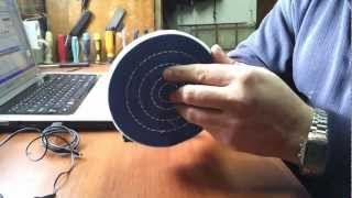 белая паста  муслиновый круг
