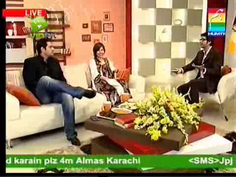 Syra Yousuf On Hum Morning Tv Show ''Jaago Pakistan Jaago'',Part 2.