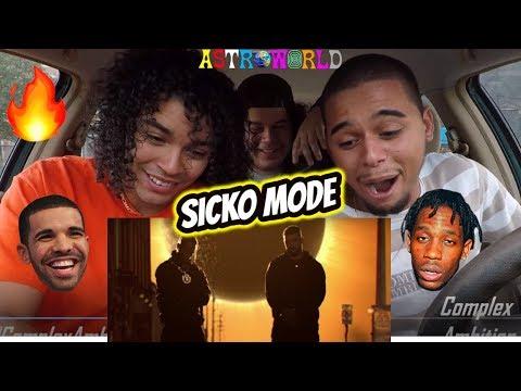 Travis Scott - SICKO MODE ft Drake   REACTION REVIEW