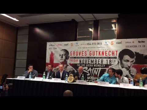 George Groves relishes appearing on terrestrial television