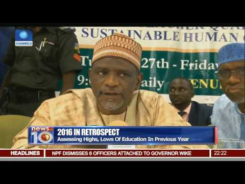 News@10: Assessing The Future Of Education In Nigeria 06/01/17 Pt.2