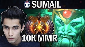 OG.SUMAIL WRAITH KING - NEW 10K MMR PRO - DOTA 2 7.25 GAMEPLAY