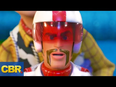 What Nobody Realized About Duke Caboom In Toy Story 4