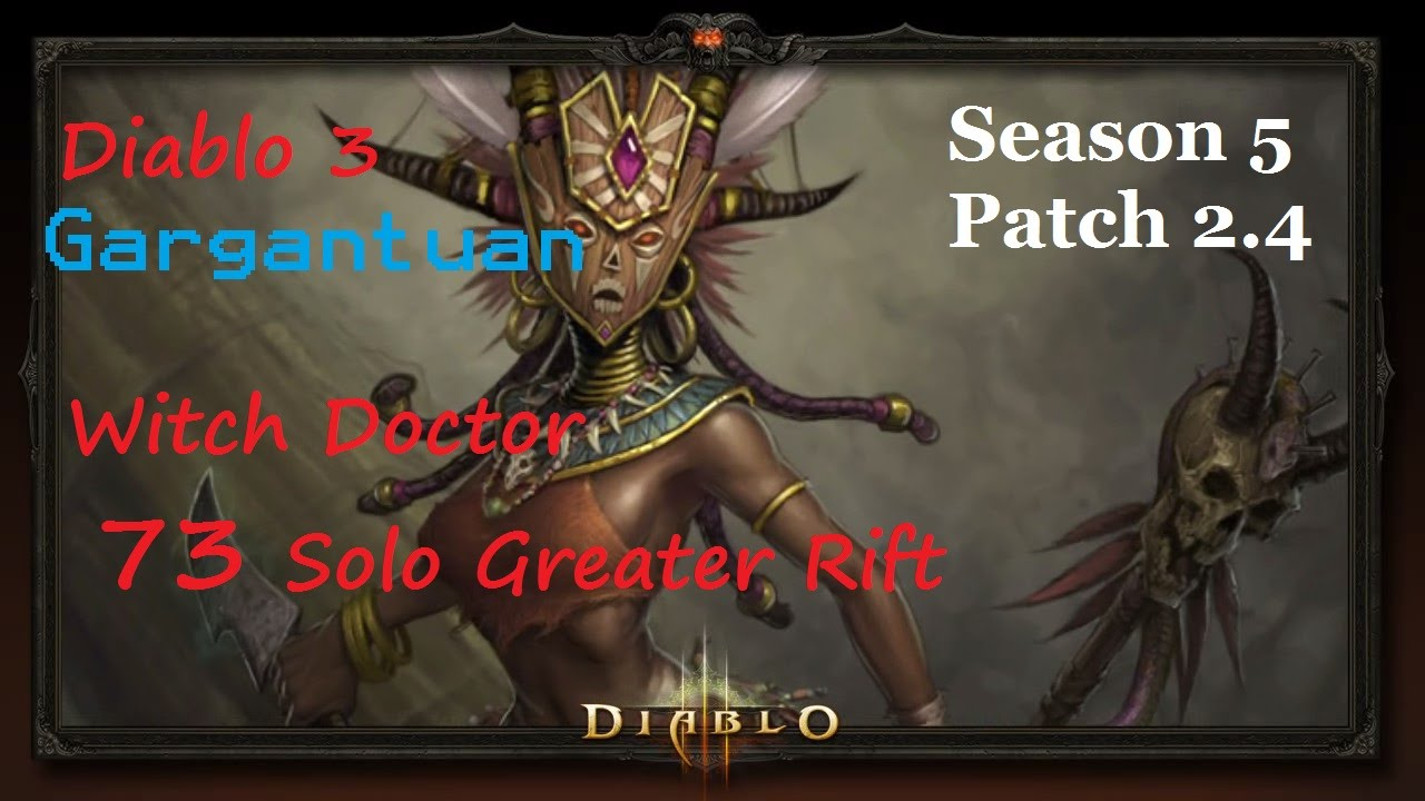 Season  Witch Doctor Pet Build