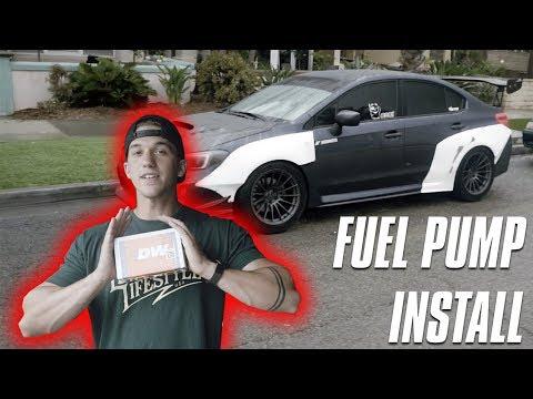 Time For e85! 2015 WRX Fuel Pump Install!