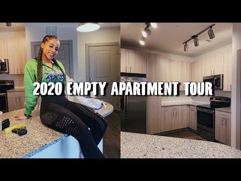 MOVING OUT AT 18! 2020 Empty Modern Apartment Tour | Azlia W