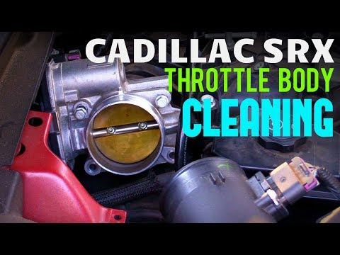 2010-2016 Cadillac SRX Throttle Body Removal & Cleaning Guide!