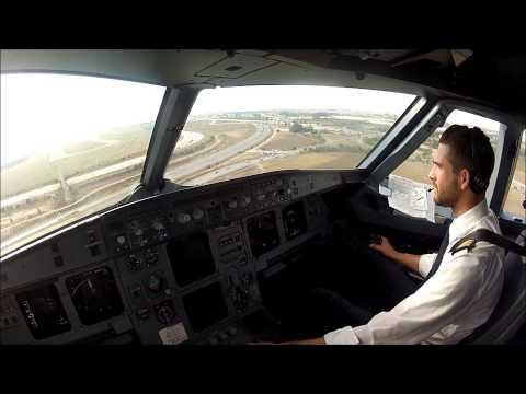 Algiers DAAG 23 Visual Landing