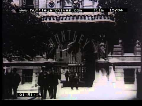 London Law Courts, 1920's - Film 15704