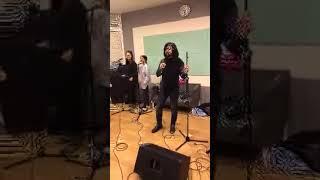 Gela Guralia - прямой эфир репетиции 16.01.2018. I'm Alive