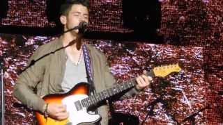LIVE Jonas Brothers - Before The Storm - Chicago - 7/10/13 OPENING NIGHT