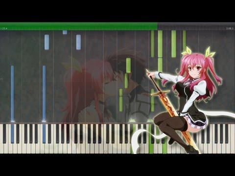 Identity OST Ep.12 - Rakudai Kishi No Cavalry [Piano Tutorial +Midi | Sheet]