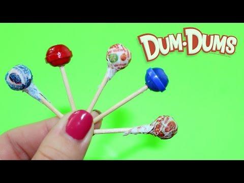 Miniature DIY Dum Dum Candy