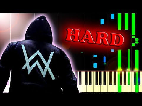 ALAN WALKER  - ALONE - Piano Tutorial