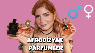 En etkileyici kadın parfümleri