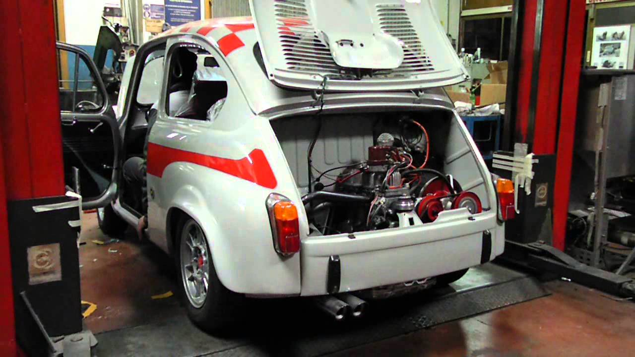 Fiat 600 Abarth Start Exhaust Sound Youtube