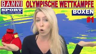 BOXEN - Boxing - Boxeo #1 - Olympic Wettkampf - Original Banni Sport Fan Style & Make-up