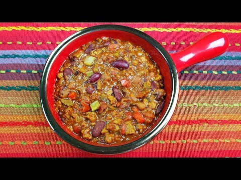 Beyond Meat Recipe - The Best Vegetarian Chili Ever!!