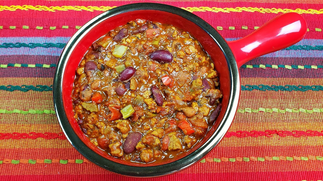 Beyond Meat Recipe The Best Vegetarian Chili Ever Youtube