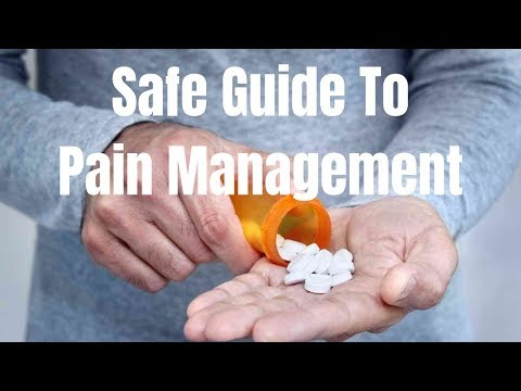 Safe Guide to Pain Management if Your Doctor Prescribes You OPIOIDS