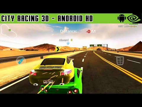 City Racing 3D - Gameplay Nvidia Shield Tablet Android 1080p (Android Games HD)