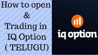 How to deposit money in IQ option Trading account || Live Binary Options Trading || Telugu