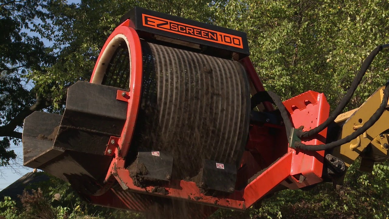 INTRODUCING EZ-Screen 100 Skid Steer Attachment