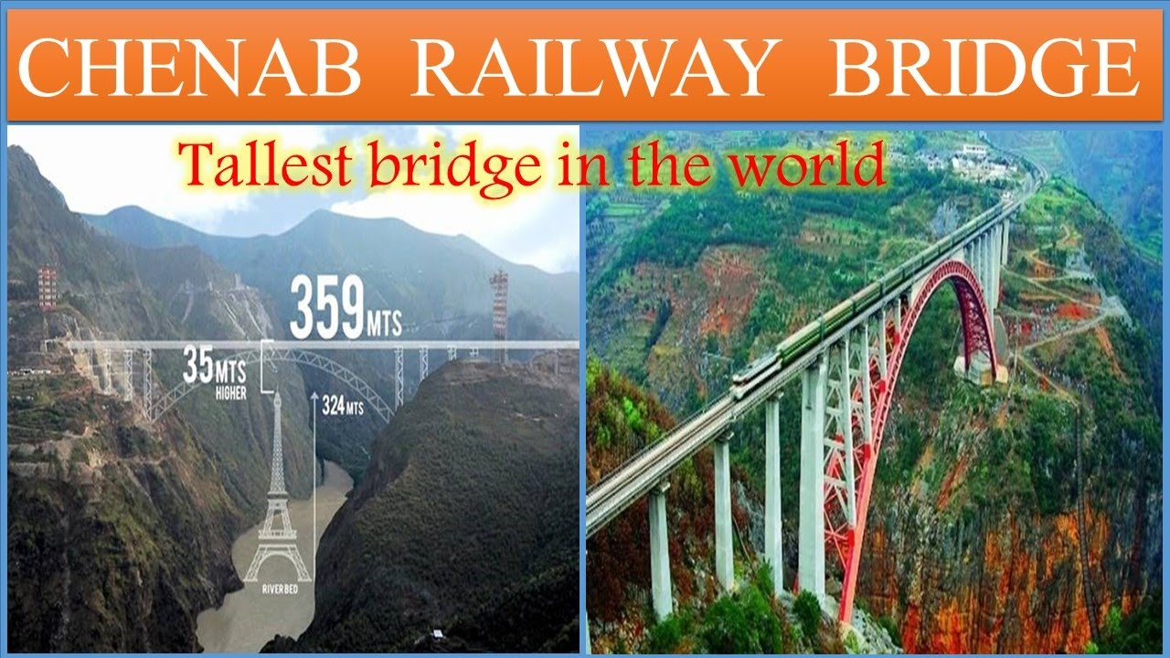 Chenab Railway Bridge latest update | Jammu-Katra-Srinagar-Baramulla Railway | Papa Construction