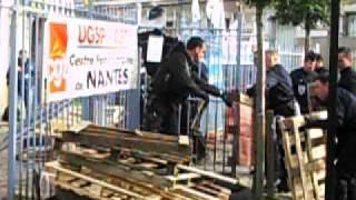 ACTE 1 Action des surveillants, Maison d'arret de Nantes ce jour