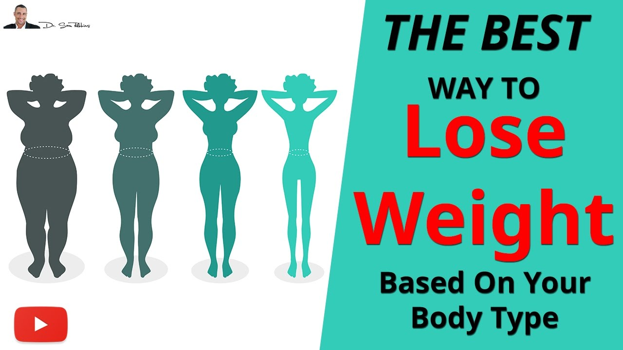What to eat to lose weight, depending on your body type
