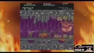 Contra Arcade Version, No Deaths, No Continues (Bulletproof)