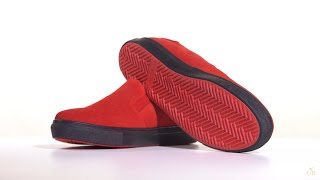 Женские красные замшевые слипоны | Обзор женской обуви | ХИТ Осени 2018