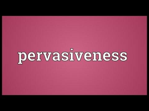 Header of pervasiveness