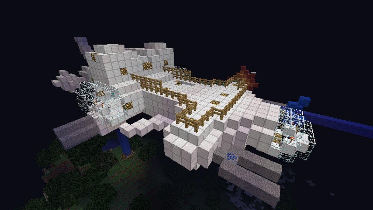 Minecraft - Space Survival Map Presentation and Download ...