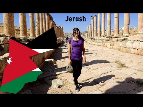 Jerash Jordan, traveling all around the world...