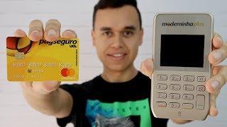 Testei a Máquina de Cartão Moderninha Plus [PagSeguro]