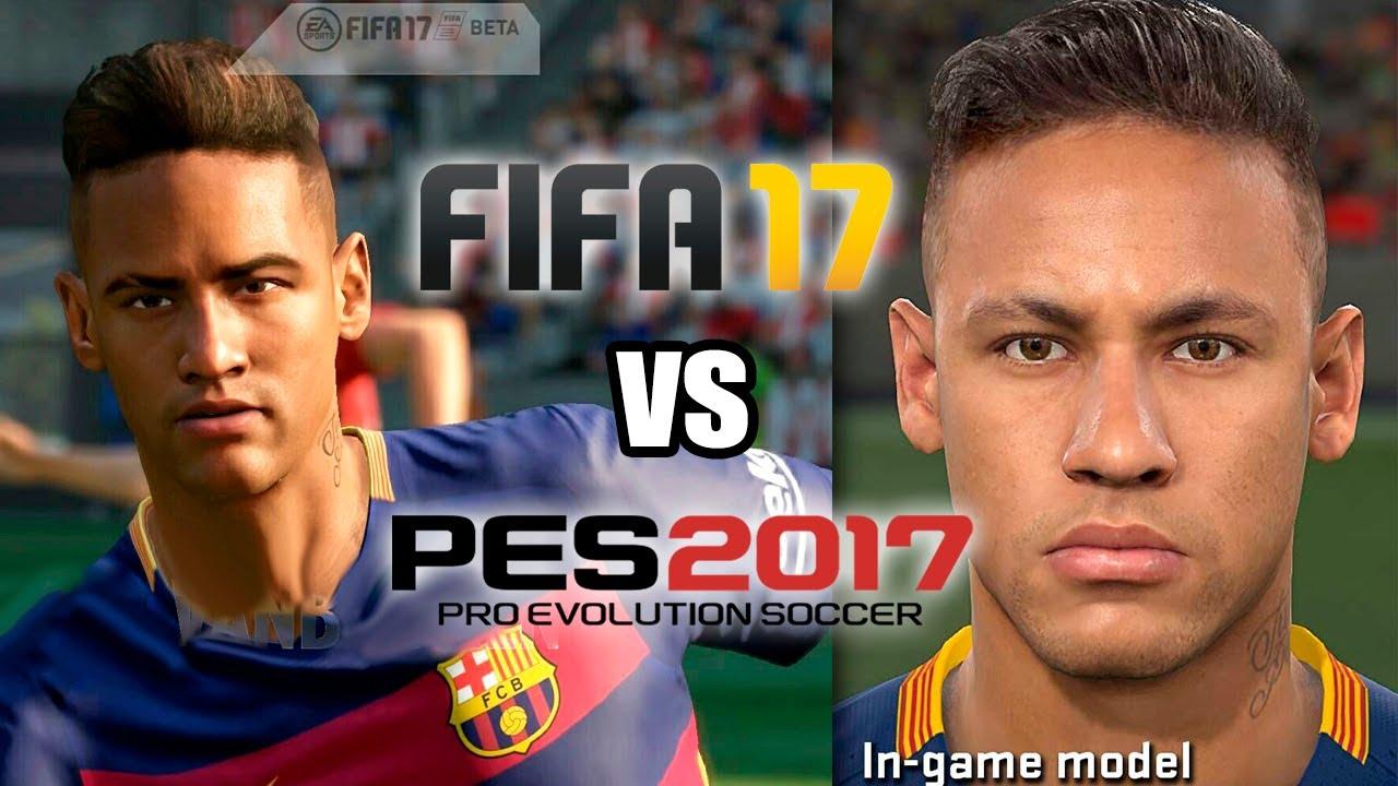 Perbandingan PES 2017 vs FIFA 2017