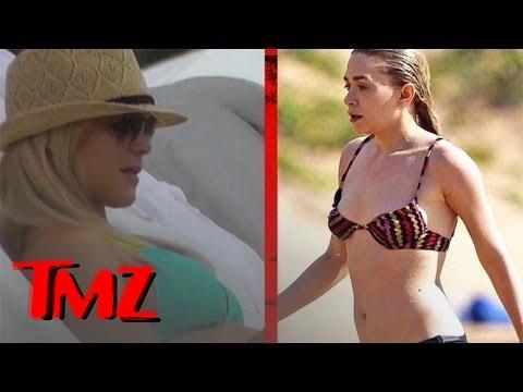 Elin Nordegren & Ashely Olsen -- Bikini Weekend | TMZ