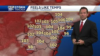 Temperatures soar with record highs possible