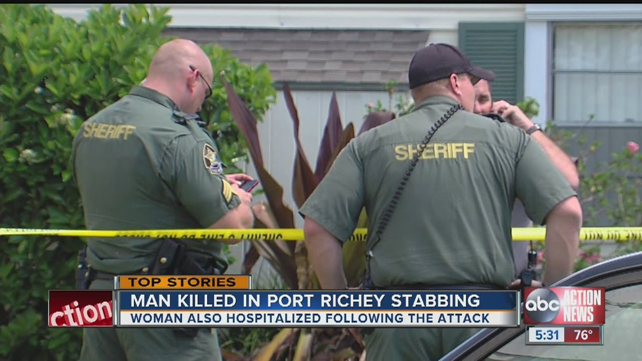 1 Dead After Stabbing At Port Richey Apartments