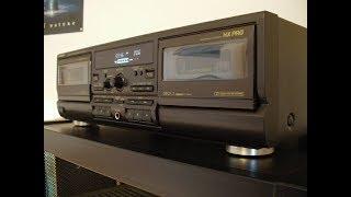 Окончание ремонта кассетной деки Technics RS-TR474
