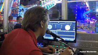 """Sound Machine"" Operator View (De Tilburgse Kermis, The Netherlands) 2016"