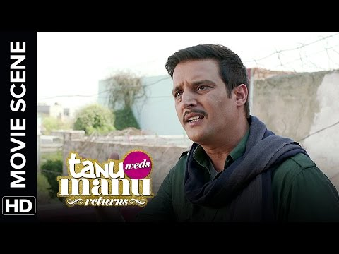 Jimmy the eye opener | Tanu Weds Manu Returns | Movie Scenes