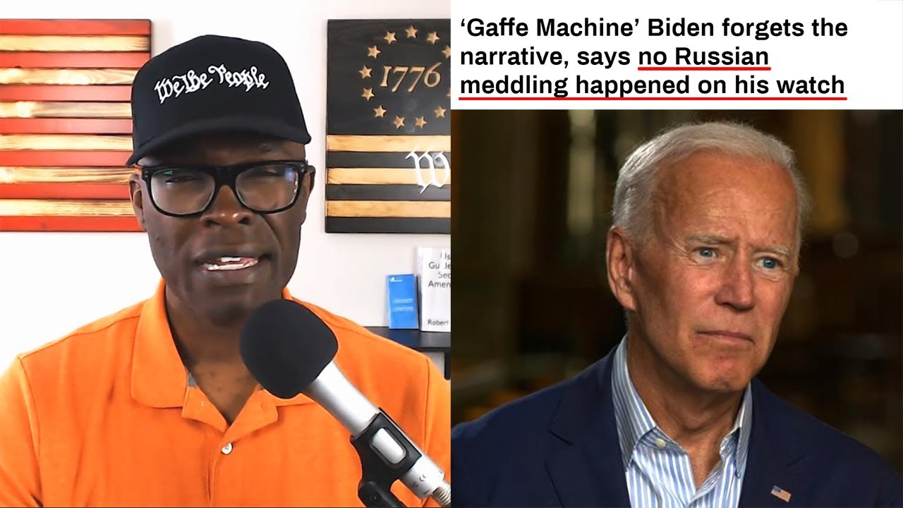 Anthony Brian Logan Biden Says There Was No Russian Election Interference Under His Watch!