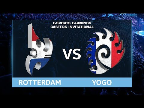 StarCraft 2 - RotterdaM vs. YoGo (PvZ) - EsportsEarnings Casters Invitational - Playoffs Semis #2