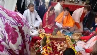 Вивах-ягья, ведическая свадьба часть 2