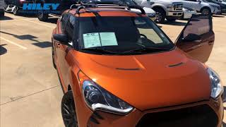 2015 Hyundai Veloster Orange #H1852B FULL HD