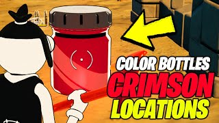 Find Bottles of Knightly Crimson (ALL 3 LOCATIONS) - Fortnite