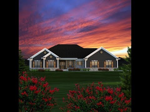 Ranch House Plan 96152 at FamilyHomePlans